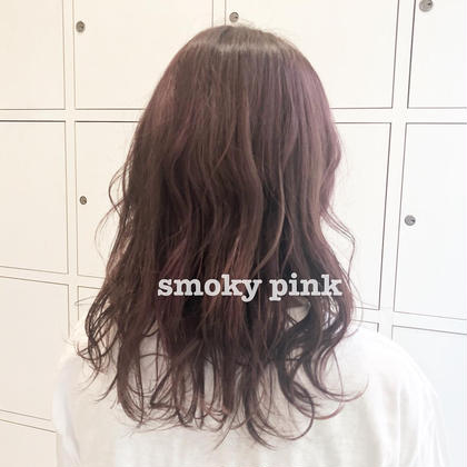 smoky pink💗 FORTE by afloat所属・カラーリスト南 優衣のスタイル