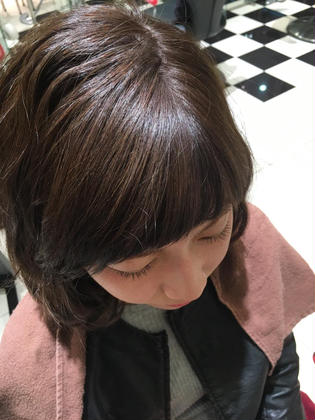 EARTH coiffure beaute佐久平店所属・馬場美緑のスタイル