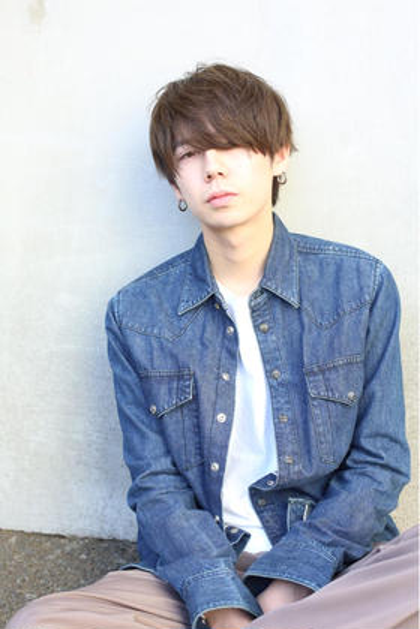 《men's》カット+前髪縮毛矯正+トリートメント