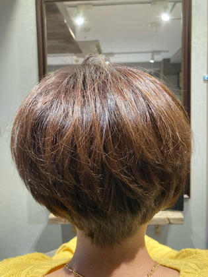 ⭕️オーガニックカラー(フル白髪染め)& 髪質改善TOKIOインカラミ5stepトリートメントサービス⭐️ミニモ限定⭐️