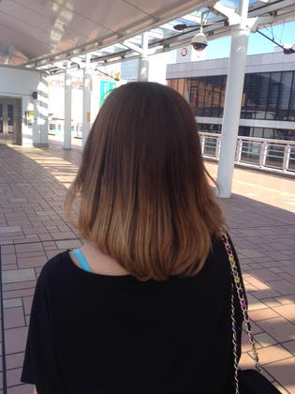 hair make apricot所属・松島紫のスタイル