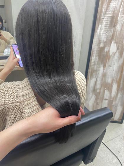 【🌸髪質改善特化メニュー】髪質改善カット+イルミナカラー+髪質改善トリートメント(前処理剤付き)