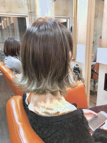 #外国人カラー#プラチナベージュ Hair DesignHaC所属・大山明洋のスタイル