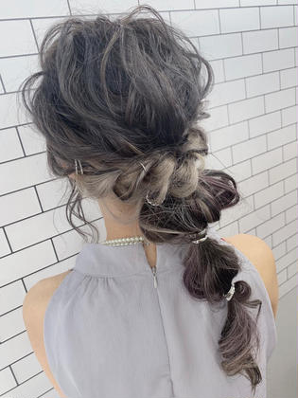 ヘアセット👠💝2750円💝👠結婚式のお呼ばれヘアやカジュアルアレンジ