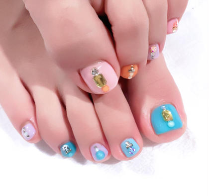 【minimo限定価格】オフあり/120分アートデザイン放題◎foot nail