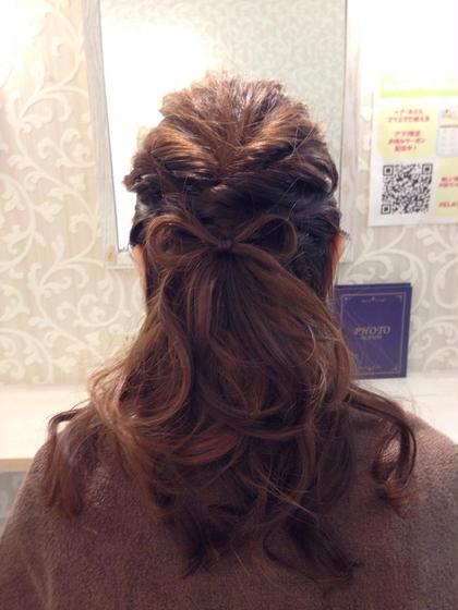 梅木留里のロングのヘアスタイル
