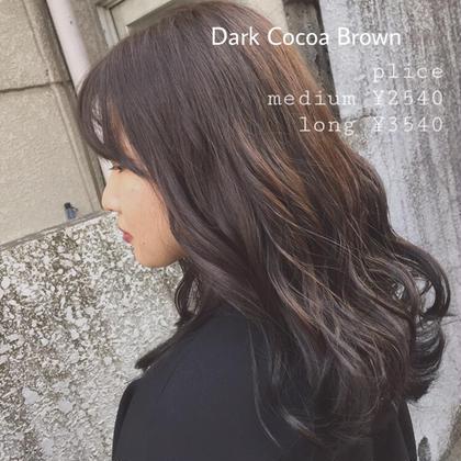 ⭐️人気No.1⭐️カット+大人気イルミナカラー+艶トリートメント (柔らかそうな髮に!カラーする程ツヤ髮へ🐏🌿)