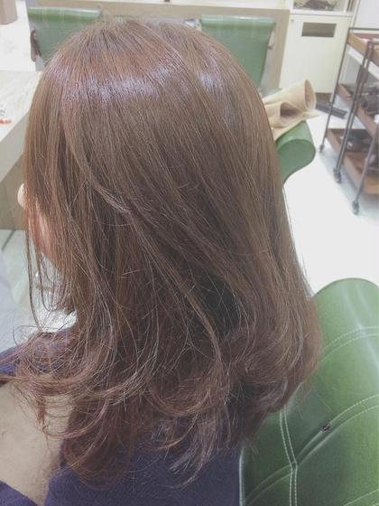 アッシュブラウン Hair&Beauty  theB所属・山田香織のスタイル