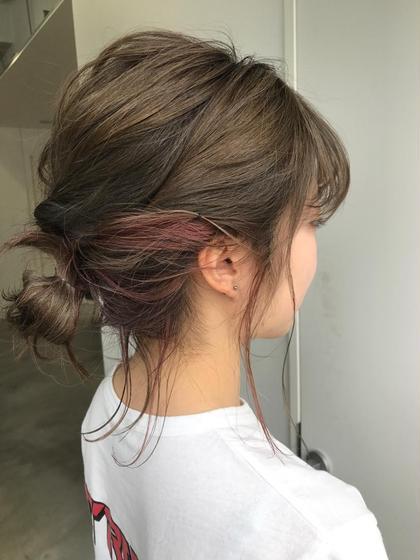 ピンクハイライト♡  デザインによりお値段変わります♡ 杉本佳奈のヘアカラーカタログ