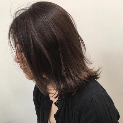 【3回目まで使える】カット & カラー&艶髪トリートメント