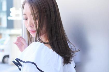 【ミニモ春キュン✨大人気外国人風イルミナカラー✨】外国人風イルミナカラー+うるつやトリートメント