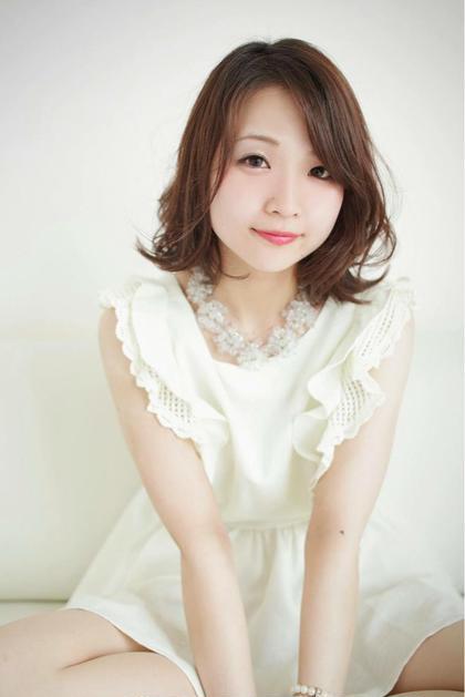 Hair salon 美髪  BIGAMI所属・西村利菜のスタイル