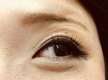 シングル80本 アイリストデビュー前のスタッフが施術した写真になってます。上達してます eyelashsalon Ramu所属・矢野つかさのフォト