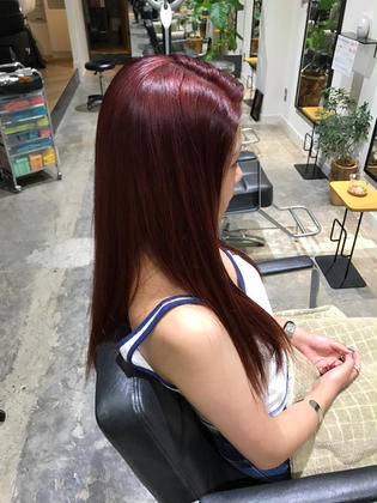 シャンプーブロー込み!ケアブリーチ&トリートメント4800円!