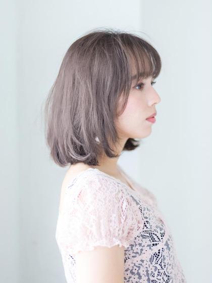 【新規限定】イルミナフルカラー+カット+プラチナトリートメント\6590