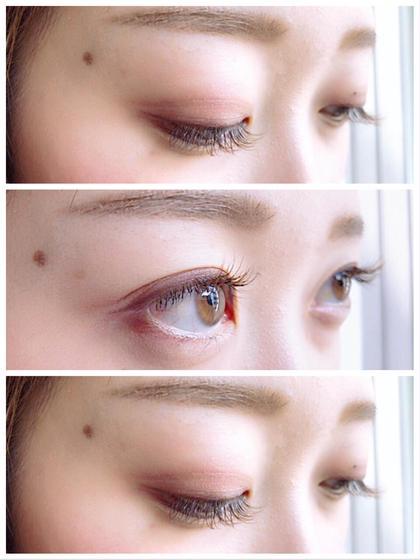 khaki brown × orange brown 80本 11㎜9㎜(真ん中長め) Lole' eyelash所属・Lole'eyelash岡村のフォト