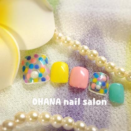 【フット定額コース】 色変更OK OHANA自宅ネイルサロン所属・陳しゅう帆のフォト