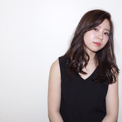 クールカジュアルスタイル♡ 少しウェットな質感がトレンドです✨ e.m.a INTERNATIONAL所属・牧野美季のスタイル