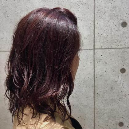 pink violet hairsalondot.plus町田所属・佐々木美樹のスタイル