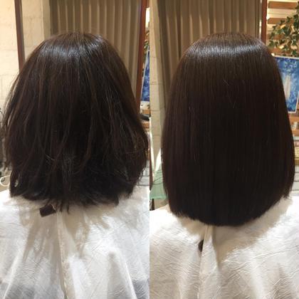 広がってしまう髪もこのとおり!💁🏻♀️ ヘアメイクパッセージ相模大野店所属・大竹彩のフォト