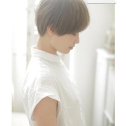 ナチュラルショート•サイド MODE ks UMEDA所属・FujimotoYukaのスタイル