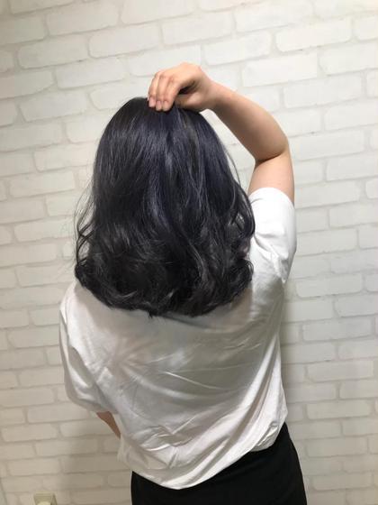 CHIMANのロングのヘアスタイル