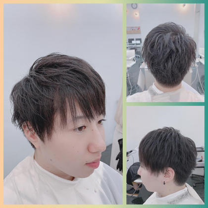 カット+部分縮毛矯正 ¥5500