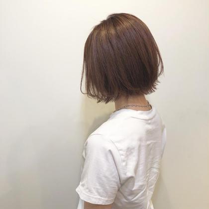 🧸カット & 頭皮に優しいオーガニックカラー&7種トリートメント♡