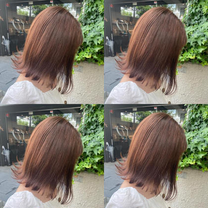 【ダメージレス❤️】カット+高級白髪染め+2stepTR