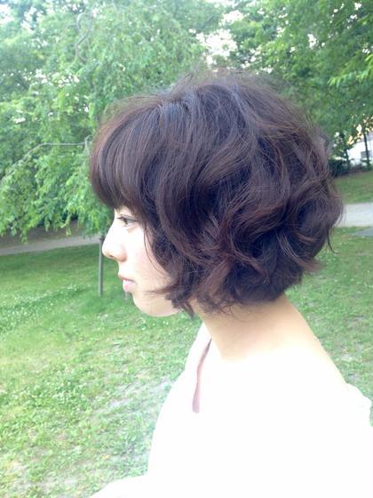 モノトーンカラーで柔らかく透明感のある仕上がりに! LaBo hair&spa所属・蓬田譲のスタイル