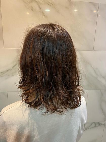 ✨🌈カット+巻き髪風パーマ+クイックトリートメント🌈✨