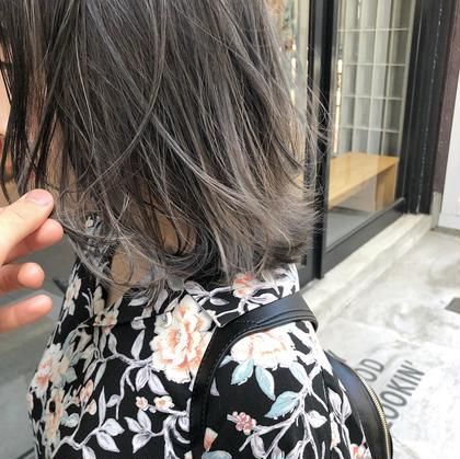 【人気NO.3】外国人風3Dハイライト &全体を希望の色にカラー& ケアトリートメント
