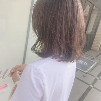 カラー ミディアム 黒髪からbeige❣️❣️❣️  柔らかくて可愛いです❣️