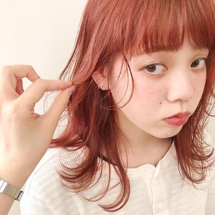 【minimo特別クーポン❤️】🌈似合わせ前髪カット & カラー🌈