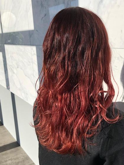 💫極上艶髪グラデーションカラー(ブリーチ有り)💫
