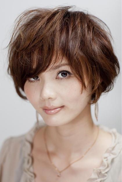 大人女子におすすめ☆エフォートレスショート eclat  hair&beauty所属・奥田このみのスタイル