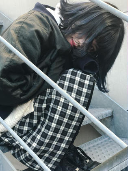 navy blue gradation☆ KiRANA SARI所属・ジョウイッセイのスタイル