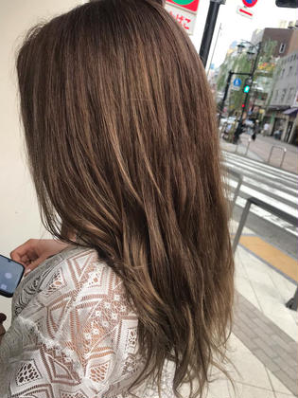 【人気No.3‼️】レングス調整cut+デザインカラー