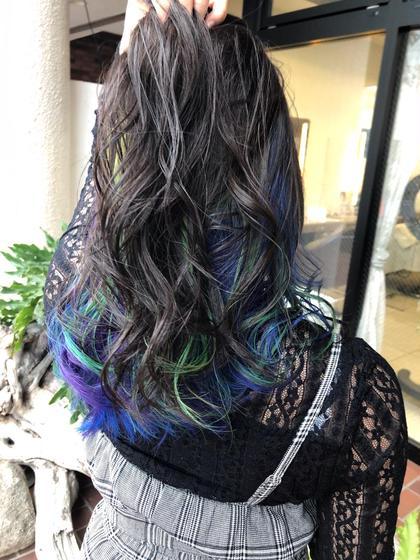✔design(デザイン)color+treatment