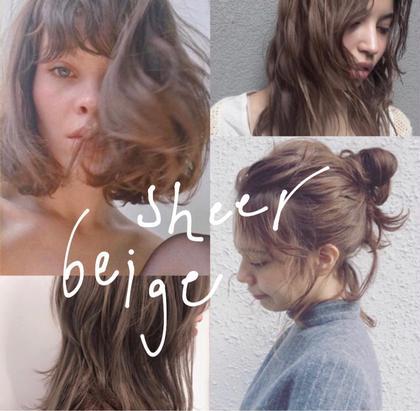 sheer  beige . . . 柔らかいラベンダーベージュカラー 人気です! . 赤味のない透明感溢れる、触れたくなる色味 . 青味が強すぎるアッシュは苦手な方! . 髪質を考慮し、お肌のトーンに馴染むお色をご提案致します! . ぜひ^^ . MIKA . . . . .  #hair #hairstyle #hairstyles #hairarrange #haircolor #haircut #bobhaircut #bob #ヘアカット #ヘアカラー #ハイライトカラー #ヘアアレンジ #ミディアムヘアアレンジ #ラベンダーベージュ #ベージュカラー #グレージュ #グレー #グレーカラー #美容室#美容師 #渋谷美容師#代官山美容師 石橋美香の