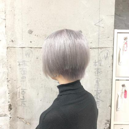 ダメージ94%カット ☆ケアブリーチ+カラー☆