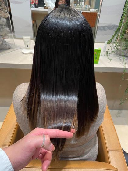 髪質艶々✨髪質改善トリートメント🌟