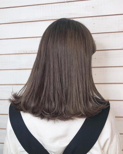 カラー➕前髪カット➕スチームプチスパ