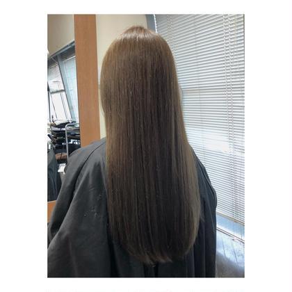 ツヤ髪ナチュラルな縮毛矯正 & 補強ミネラルトリートメント