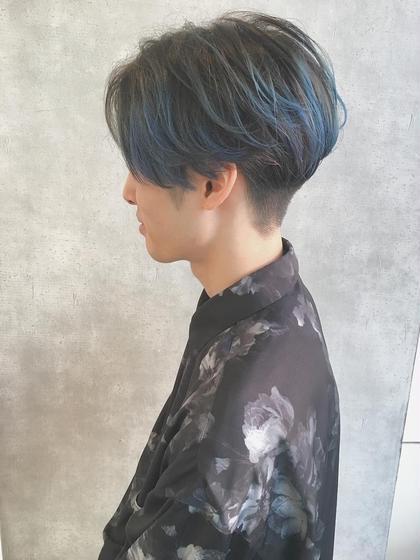 💙【 メンズカット&カラー+トリートメント 】💙