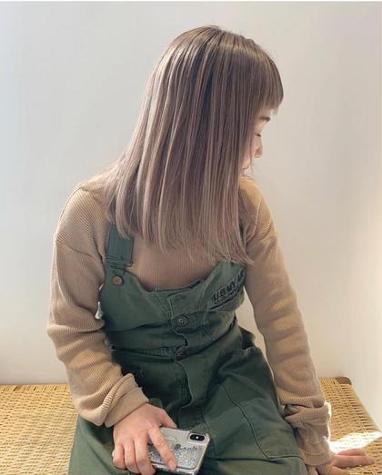 ⭕️1番人気⭕️ダブルカラー&ケアブリーチ&カット(long)