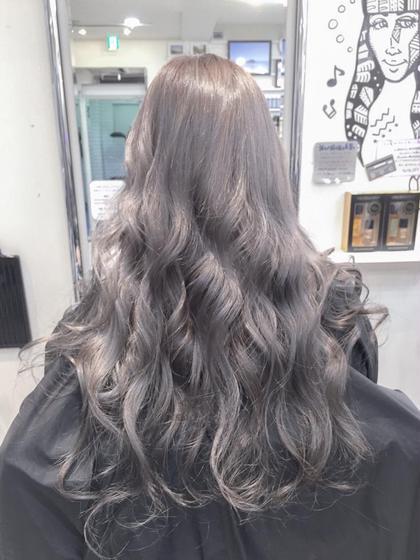 グレーアッシュカラー HairSalon F所属・菊池悠介のスタイル