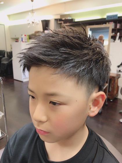 HIKARU✂︎のキッズヘアスタイル・髪型