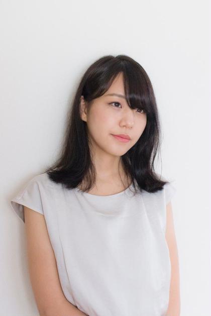 ナチュラル外ハネミディ hairdesignSTELLA所属・藤村豊のスタイル