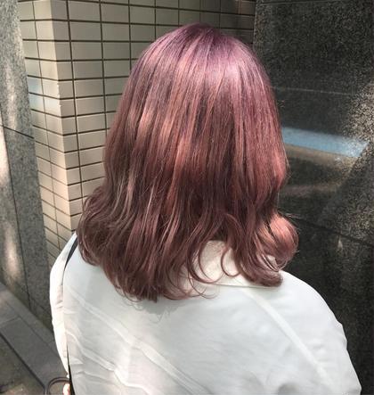 ピンクバイオレット   CHERIEhair design所属・ヤマモト徹のスタイル